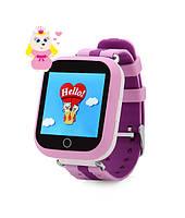 Детские часы Смарт часы Q750, Розовые
