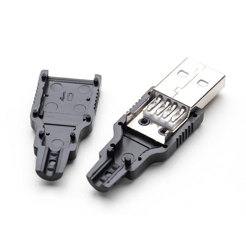 USB Штекер, разём папа в разборном корпусе - GerBest.com.ua - Интернет-Магазин в Хмельницкой области