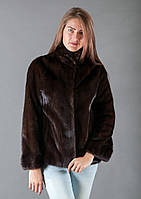 Норковый полушубок фасона пиджак, Италия 2022