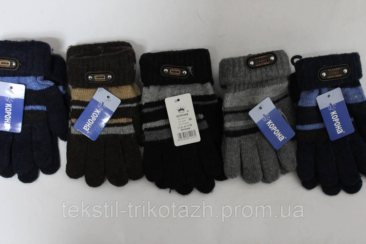 Перчатки Подросток  на мальчика №5208 (уп 12 шт)