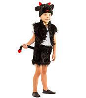 Детский маскарадный костюм Чертика (чертенка) на 4-7 лет