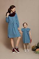 Изумительный набор платья мама и дочка