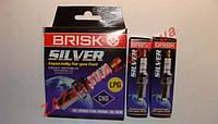 Свечи зажигания BRISK Sliver DR15YS Чехия ВАЗ 2109-21099 2110-2112 16 кл