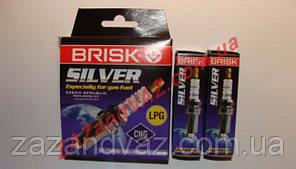 Свечи зажигания BRISK Sliver DR15YS Чехия Ланос 1.6 16 кл