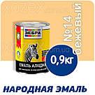 Зебра Краска-Эмаль ПФ-116 Бежевая №14 12кг, фото 3