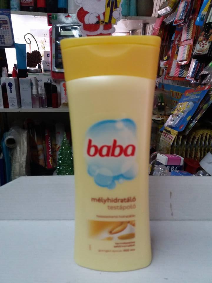 Молочко для тела глубокого увлажнения BaBa