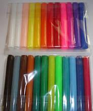 Полимерная глина Пластишка Набор 24 цвета. Полімерна глина Пластішка Набір 24 кольори. Пластика набор 24 цвета