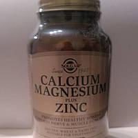 Солгар Кальций, магний плюс цинк, 250 таблеток Solgar Calcium Magnesium plus Zinc