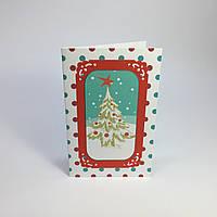 Открытки ручной работы #17. Новогодняя елка.