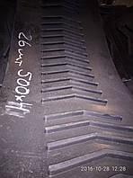РЕМЕНЬ ПЛОСКИЙ ШЕВРОННЫЙ БЕСКОНЕЧНЫЙ (ЛЕНТА БЕСКОНЕЧНАЯ ШЕВРОННАЯ) ЗМ-90 (ЗМ-100) 500*4*2560,