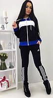 Теплый спортивный костюм Adidas с начесом.