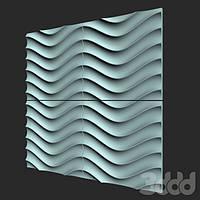 """Форма для 3D панелей """"ХВИЛювання"""", фото 1"""