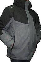 Мужская горнолыжная куртка Avecs, серый P. L