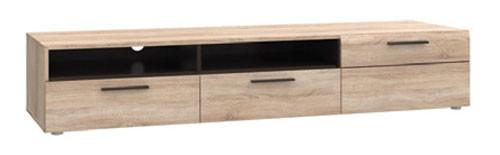 Элемент модульной системы Соло от мебельной фабрики ВМВ Холдинг, подставка под ТВ 1D2S (L) Соло