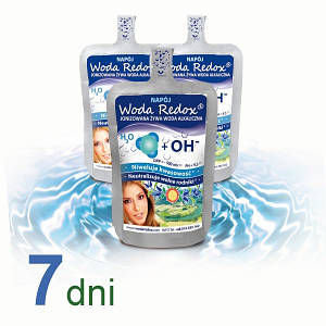Живая вода с отрицательным редокс-потенциалом Woda Redox, упаковка 15 х 240мл