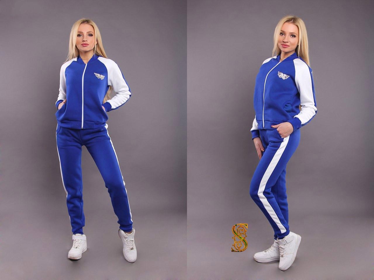 Женский спортивный костюм трехнитка