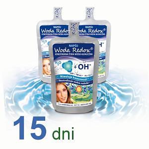Живая вода с отрицательным редокс-потенциалом Woda Redox, упаковка 30 х 240мл