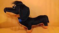 Мягкая игрушка  Собачка Такса из Щенячий патруль,  длина 40 см