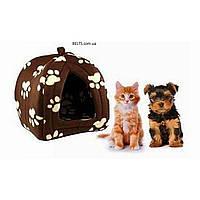 Комфортное место для домашнего питомца Pet Hut (домик, лежак для собак и кошек Пет Хат), фото 1