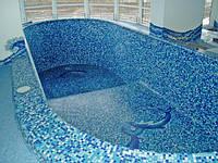 Мозаика для бассейна, сине-бело-голубой микс, недорогая китайская и турецкая мозаика