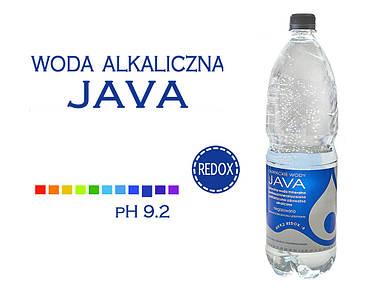 Щелочная вода минеральная pH 9,2 Java PET, 1,5л