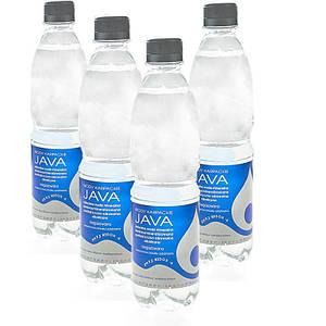 Щелочная вода минеральная pH 9,2 Java PET, упаковка 24 х 500мл