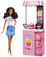 Кукла Барби из серии кем быть, набор Булочная, Barbie Careers Bakery Shop Playset with
