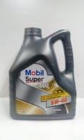 Масло моторное 5W-40 Super 3000, 4 л MOBIL