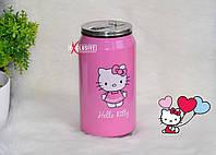 Баночка с поилочкой Hello Kitty (Хеллоу Китти).