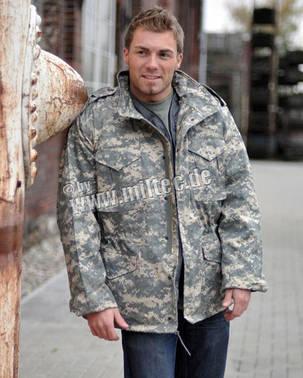 """Куртка полевая демисезонная """"M65"""" AT-DIGITAL, фото 2"""