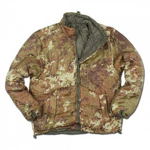 Термо-куртка двухсторонняя вегетато-олива, фото 2