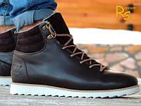 Зимние мужские кроссовки Adidas NEO Winter brown