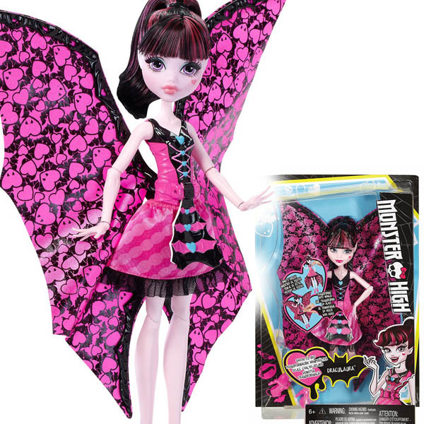 Monster high   Draculaura Bat Transformation Монстер хай Дракулаура  Летучая мышь