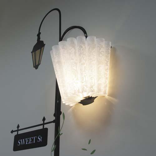 Декоративная наклейка со светильником Feron NL60