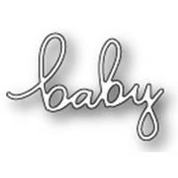 Нож для вырубки на машинке Memory Box Die Little Baby Script (873980994269)