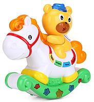 Музыкальный ночник-проектор «Медвежонок и лошадка»