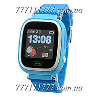 Умные часы Smart Baby Watch Q100 Blue голубые Гарантия!