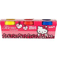 Тесто для лепки цветное Hello Kitty 3*75г HK17-151