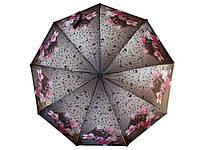Зонт женский сатин KingRain 1613 полуавтомат Расцветка 2