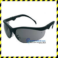 Захисні окуляри MCR Safety Klondike Plus, чорні лінзи (США)