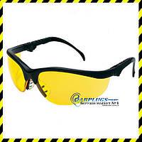 Захисні окуляри MCR Safety Klondike Plus, жовті лінзи (США)