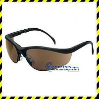 Захисні окуляри MCR Safety Klondike, коричневі лінзи (США)