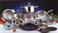 Набор посуды BergHOFF Mythe с пароваркой, термодатчиками 17пр.