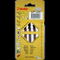 Пилки для лобзиков Rebir T101D, 5 штук/упаковка, 100 мм, HCS, фото 1