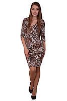 Женское Платье Italy Moda Леопард 2600