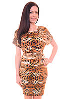 Женское Платье Колье Nika Nice тигровое