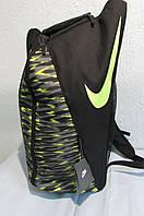 Рюкзак N (5067) черный  с лимонным логотипом код 0472А