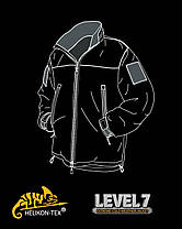 Куртка LEVEL 7 - Climashield® Apex 100g - Alpha Green||KU-L70-NL-36, фото 3