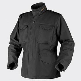 Куртка M65 Helikon-Tex - Nyco Sateen - чёрная   KU-M65-NY-01