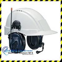 Коммуникационная гарнитура 3M PELTOR LiteCom 446 Plus (MT7H7P3E4410-EU) с креплением на каску (США)